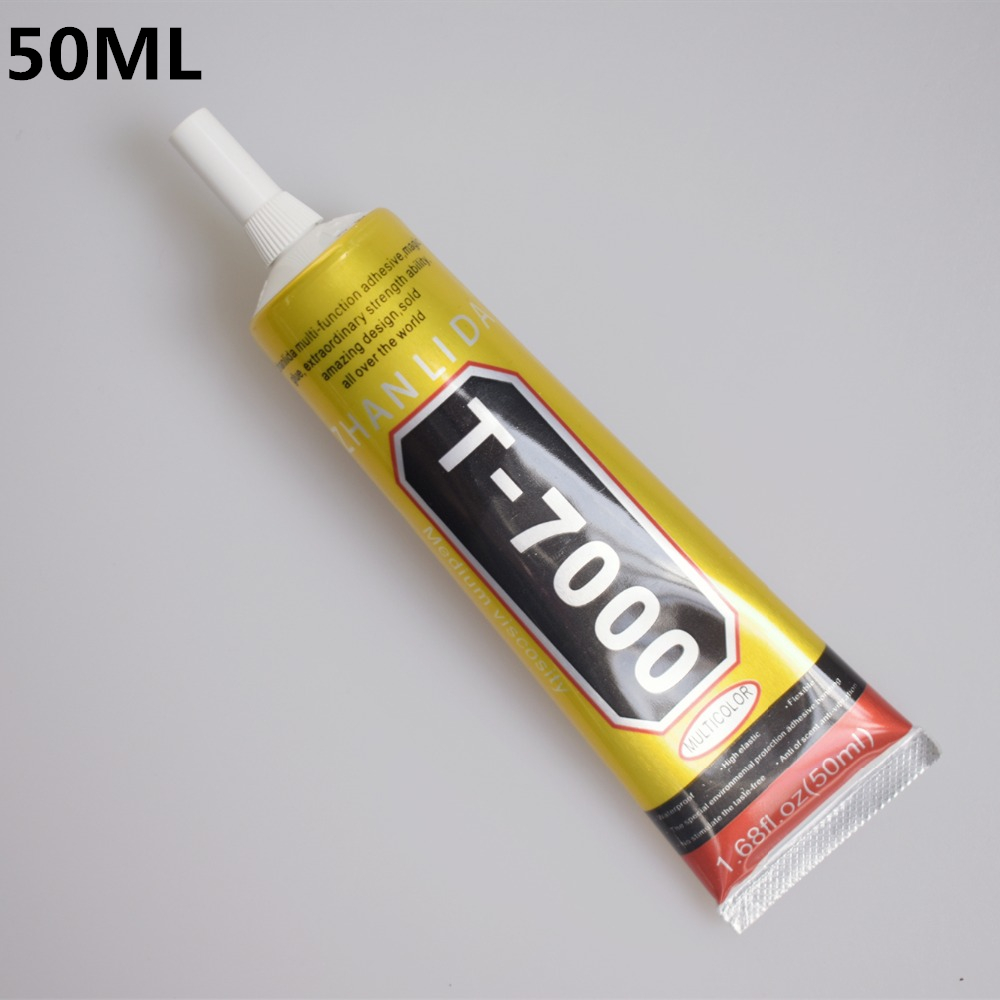 1 Pc 50ml T-7000 Glue T7000 Multi Purpose Glue Adhesive Epoxy Resin Repair Cell Phone LCD Touch Screen Super DIY Glue T 7000