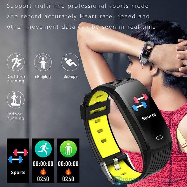Novo relógio inteligente 2021 mulheres homens smartwatch rastreador de fitness esportes bluetooth à prova dwaterproof água pulseiras para android ios relógios digitais 2