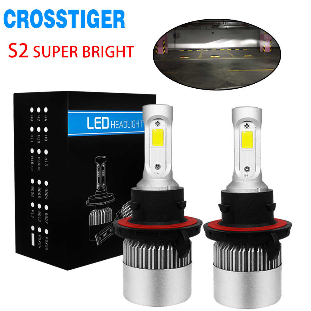 H7 H4 Led Headlight Bulbs Hb4 H3 H8 H11 Conversion Kits 9004 9005 9006 9007 880 80W 8000LM Replace H1 Led Car Lamp