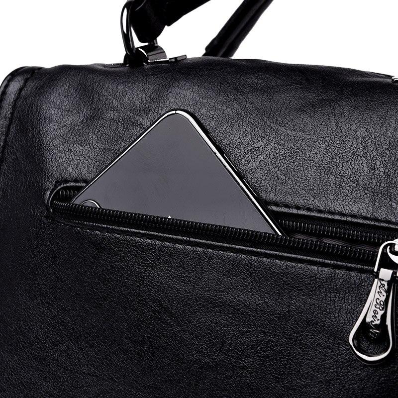Marca de luxo bolsas de couro macio