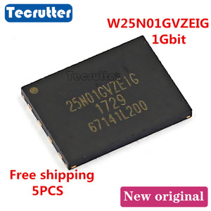 Image 1 - 5 adet W25N01GVZEIG WSON8 8x6 1Gbit 25N01GVZEIG SPI NAND FLASH