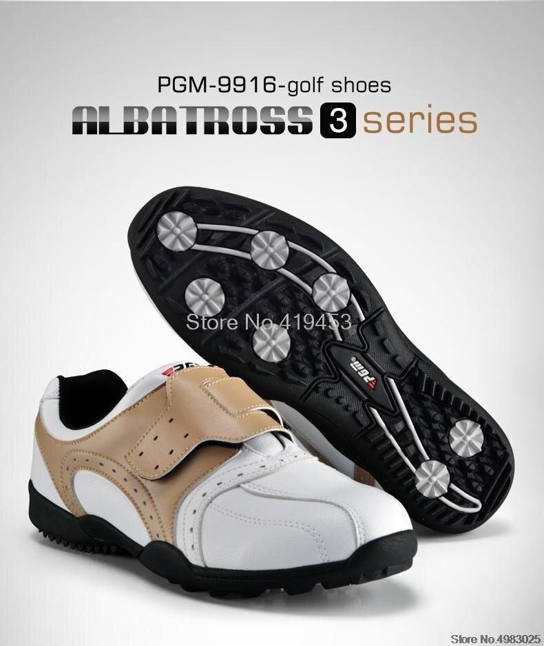 de golfe respirável sapatos de couro macio