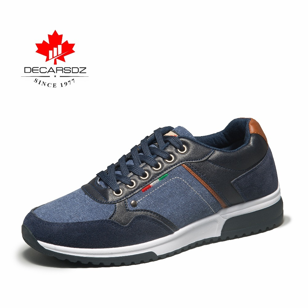DECARSDZ 2019 Autumn Sneakers Men Fashion Men's Shoes Male Trainers Footwear Brand Walking Casual Shoes Male Men's Casual Shoes-in Men's Casual Shoes from Shoes
