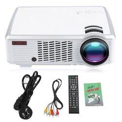 WIFI bezprzewodowy Full HD 1080P projektor led USB AV HDMI rzutnik kino domowe kino multimedialne dla androida w System kina domowego od Elektronika użytkowa na