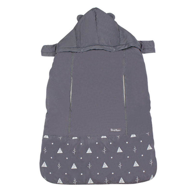 BEST BABY Fashion New Baby Carrier Funtional Winter Cover Newborn Baby Warm Cover Backpack Windproof Cloak Blanket Wrap Sling