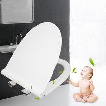 ПП доска спуска унитаза u-образная БЫСТРОРАЗЪЕМНАЯ простая туалетная крышка сиденья верхняя одежда-Туалет