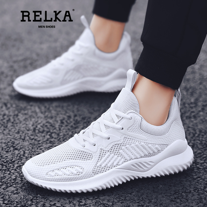 RELKA Weaving Shoes Men 39 s Mesh Shoes Air permeable Sports Shoes Summer Leisure Outdoor Sport Travel Men Shoes Sneakers Men Y14 in Men 39 s Vulcanize Shoes from Shoes