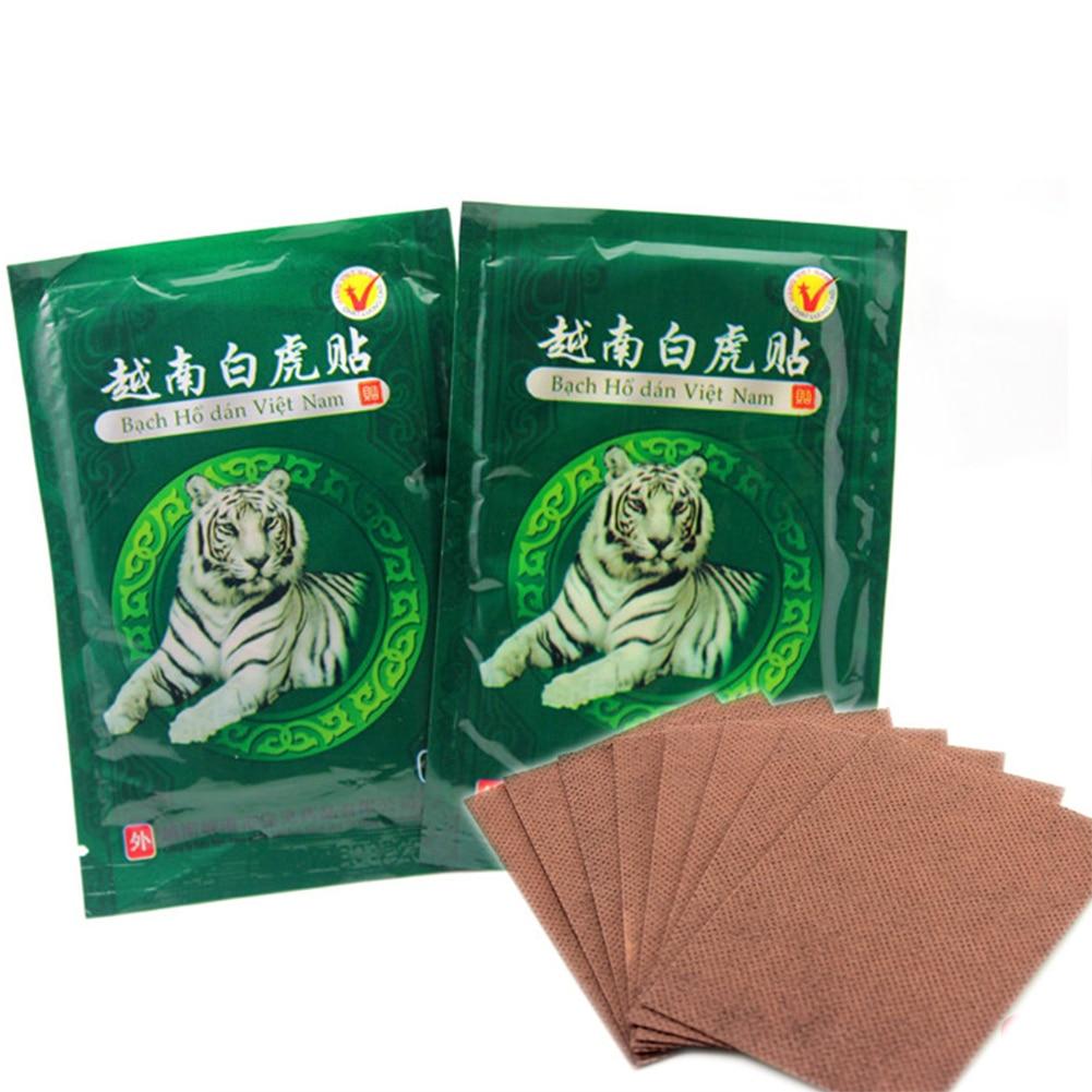 Vietnam White Tiger Pain Relieve Plaster Patch Meridians Rheumatoid Arthritis Cervical Spondylosis Tiger Balm