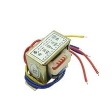 EI48-10 W 10VA 220 V/15 v * 2 15V-0-15V двойной 15v ei тип изоляции Трансформатор Мощность частоты