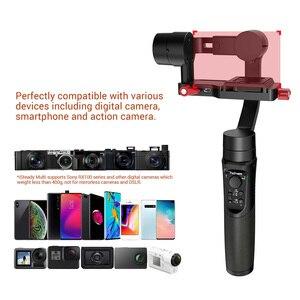 Image 4 - هوهيم ايثابت متعدد مايكرو واحد استقرار 3 محور يده Gimbal للكاميرا عمل Gopro 6 7 الهاتف الذكي PK Zhiyun رافعة M2 om4