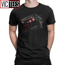 GTR – T-Shirt de sport en coton pour Homme, surdimensionné, humoristique, livraison gratuite