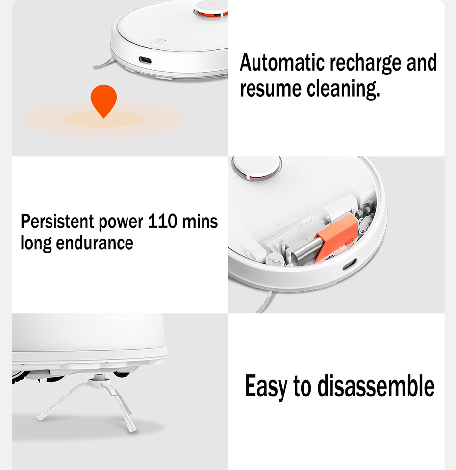 H6b696d67729e4e6189957c4b891e1da08 Present Gift Xiaomi Mijia STYJ02YM V2 pro mi robot Vacuum Cleaner 2 mop-p sweep mop suction 2 in 1 wifi EU Russia warehouse