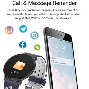 Image 3 - Fitness Bracelet 1.3 Screen Smart Bracelet Blood Pressure Heart Rate Monitor Fitness Tracker Waterproof Ip67 Smart Band Watch