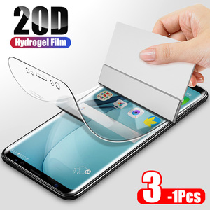 ZNP 20D Hydrogel Film For Samsung Galaxy S8 S9 S10e S10 Plus Screen Protector For Samsung Note 8 9 10 S10 S7 Edge Film Not Glass(China)