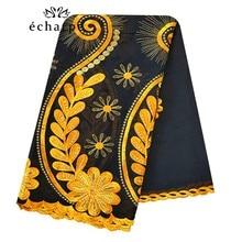 100% Katoenen Sjaal Afrikaanse Vrouwen Sjaals Moslim Vrouwen Borduren Bloem Ontwerp Hijab Sjaal Hoofddoek EC127