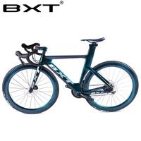 Full carbon road bike road racing bicycle 49/51/54cm Carbon road bike frame disc brake chameleon paint complete road bik