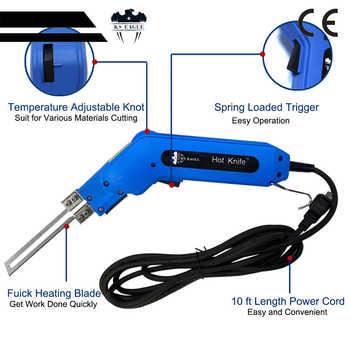 Hot Knife 110 V Straight Blade 10 cm 100 w Foam Cutting Tools Fabric Hot Knife Heat Knife Cutter