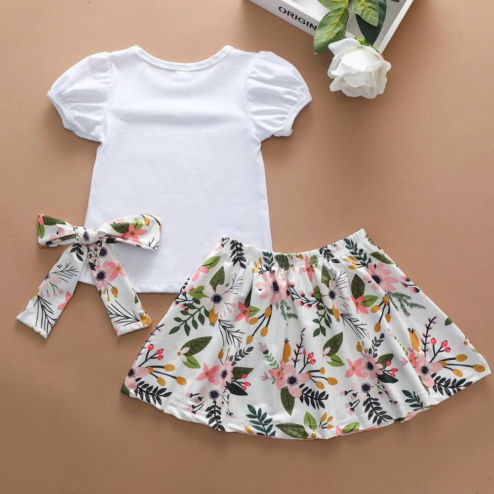 big sister little sister girls clothes set kids summer outfits (11)