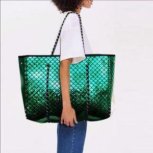 Image 2 - Di lusso Delle Donne di Marca Borsa di Cuoio Hollow Shopping Bag Casual Tote Borse Morbide Femminile Grande sacchetto del Messaggero del Sacchetto di Spalla di Nuovo di Grandi Dimensioni