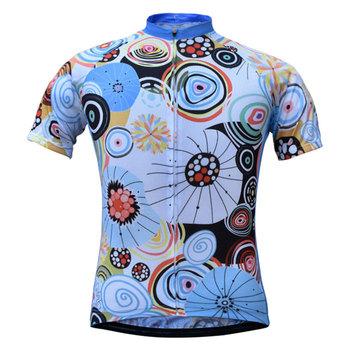Pro Team koszulka kolarska damska MTB nowa sublimowana koszulka rowerowa odzież z krótkim rękawem oddychająca odzież rowerowa sprzedaż hurtowa tanie i dobre opinie JESOCYCLING POLIESTER SHORT WOMEN js-067 Wiosna summer AUTUMN Koszulki Zamek na całej długości Dobrze pasuje do rozmiaru wybierz swój normalny rozmiar