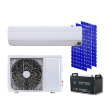 1.5ton 18000btu AC DC hybrid solar air conditioner marsrock 7000w ac220v dc48v 24000btu inverter air conditioner cooling heating hybrid for home on grid solar air conditioner
