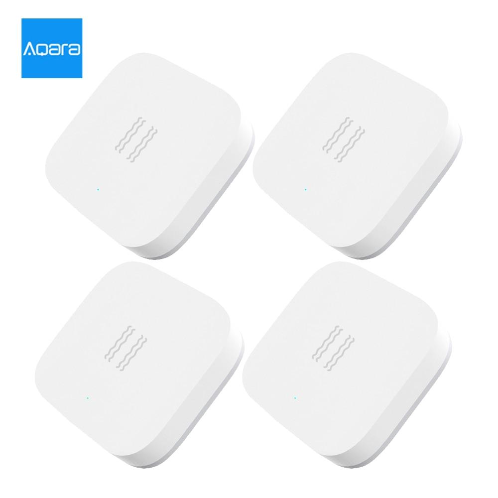 Aqara Smart Vibration Sensor Zigbee Bewegung Shock Sensor Erkennung Alarm Monitor Gebaut In Gyro Für Home Sicherheit MI hause APP