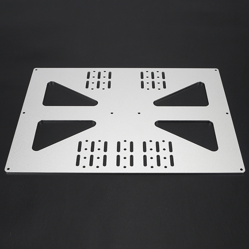 PPYY NEW -3D Printer Parts Heating Platform Z-Axis Support Aluminum Plate for Prusa I3 / Wanhao Support Plate V3 300 Heatbed