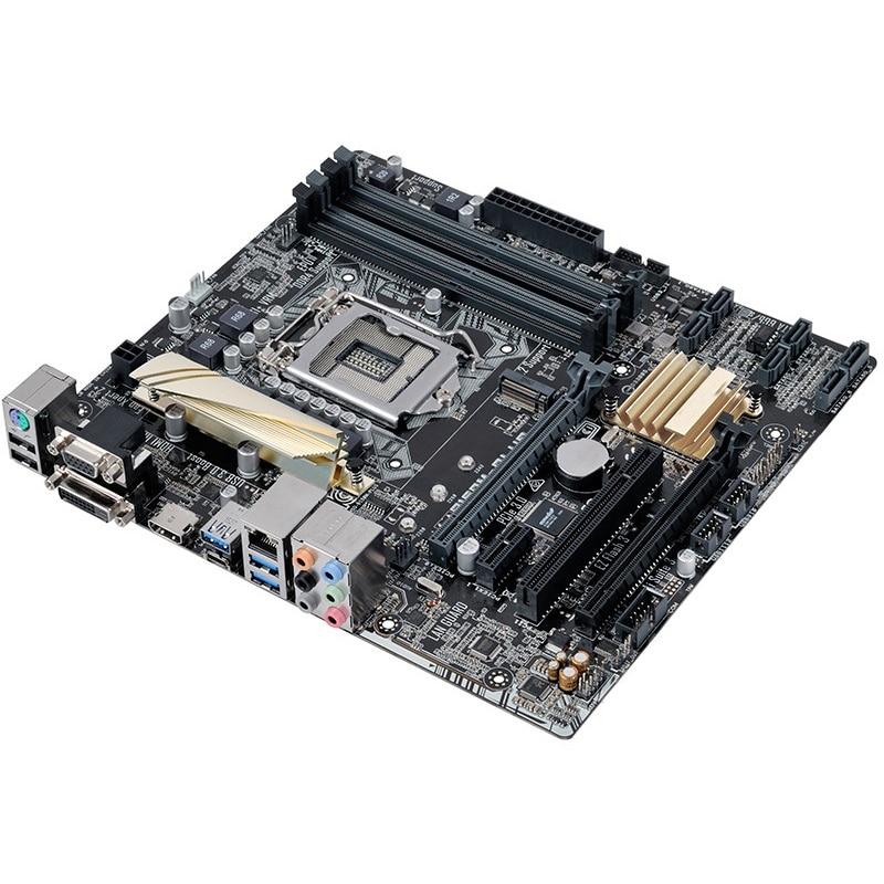 For ASUS B150M-PLUS Desktop motherboard Intel B150 LGA 1151 micro ATX DDR4 64GB M.2 SATA3.0 USB3.0 100% fully Tested 2