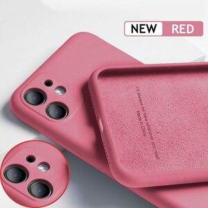 Чехол для iPhone 12 11 Pro SE 2, роскошный оригинальный силиконовый чехол с полной защитой, мягкий чехол для iPhone X XR 11 XS Max 7 8 6 6s, чехол для телефона