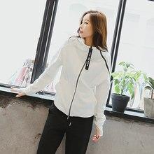 2019 Women splice Zipper Sport Jacket Fitness Yoga Running Coat Gym Clothing Long Sleeve Sports Sweatershirt