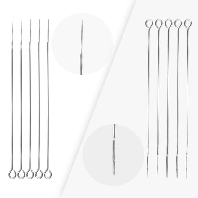 10pcs 3RL,5RL,7RL,5M1,7M1,9M1,5RS Tattoo Needle Stianless Medical Disposable Sterilized Microblading Needles for Tattoo Eyebrow 1