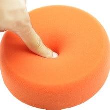 1 шт. 150 мм автомобильные полировальные накладки Губка Полировка восковой накладки колеса для автомобиля полировальные накладки оранжевого цвета комплект горячей машинной мойки