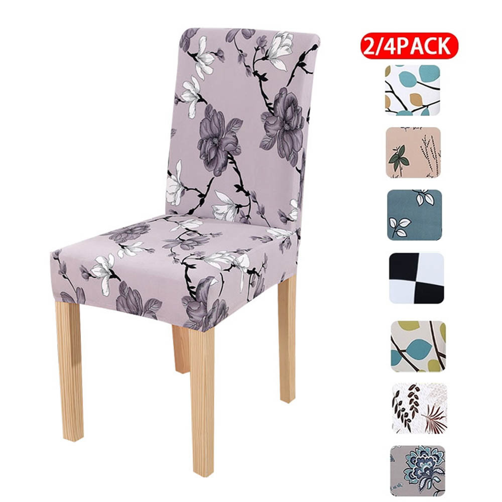 Chair Covers Spandex Modern Chair Covers Dining Room Flower Seat Covers For Chairs CH37020