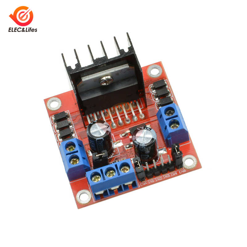 High Power L298N H bridge Driver Board module L298 stepper motor for arduino smart car robot breadboard