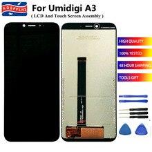 KOSPPLHZ עבור UMIDIGI A3 LCD תצוגה + מסך מגע עצרת החלפה עבור Umi UMIDIGI A3 / A3 פרו טלפון סלולרי LCD מסך + כלי