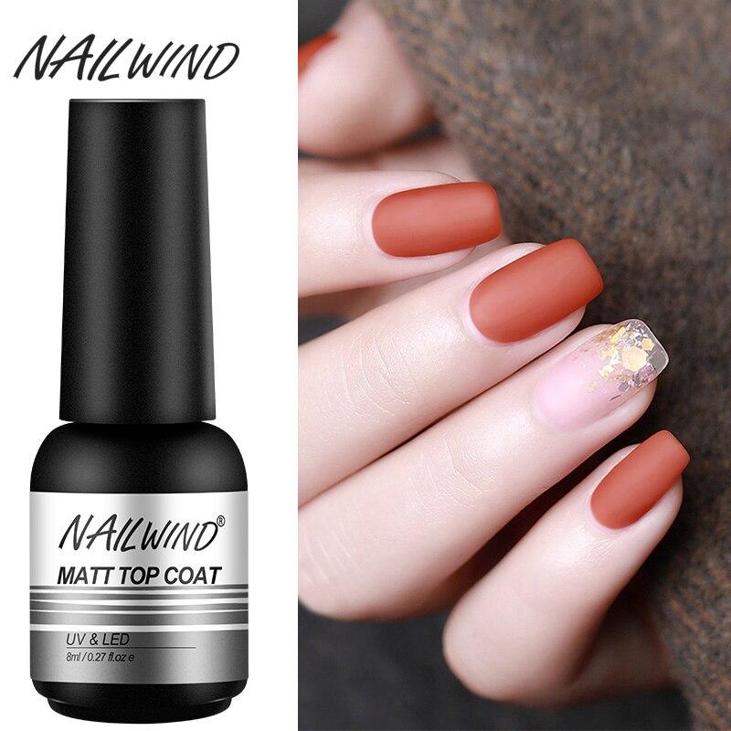 Nailwind матовый лаки для ногтей лак для ногтей для маникюра Гель-лак живопись Nail Art нужно для закрепления УФ-светодиодный светильник гель грунт...