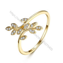 Thin Leaf Minimalist Leaves Ring 18k gold color plated 925 sterling silver Dainty Ring cubic zirconia promiss engagement rings black cubic zirconia 925 sterling silver men s ring