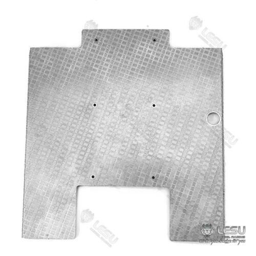Lesu rc placa de metal saia lateral