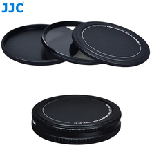 Filtro de lente de Metal UV CPL caja de almacenamiento, 37mm, 40,5mm, 43mm, 46mm, 49mm, 52mm, 55mm, 58mm, 62mm, 67mm, 72mm, 77mm, 82mm, Protector de tapa