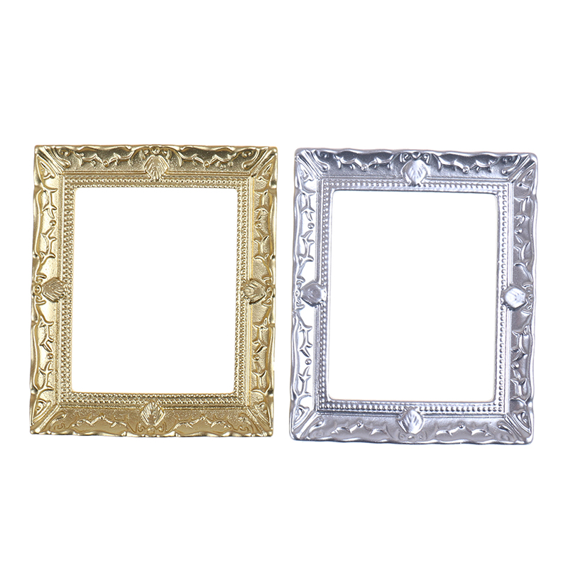 1/12 Doll House Miniature Resin Photo Frame Simulation Furniture Model Toy DIY Baby Children Kids Toys