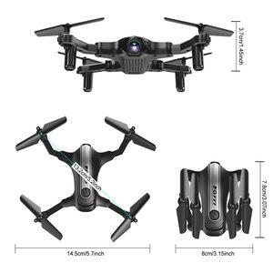 Image 5 - التخليص Cewaal لعبة RC Drone 4CH 6 محور الدوران الطائرة بدون طيار FPV 2.4G WIFI طوي Quadcopter واحد مفتاح العودة الوقت الحقيقي نقل