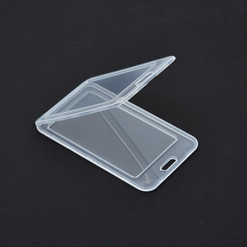 1pcs Waterproof Transparent Card Cover Women Men Student Bus Card Holder Case Business Credit Cards Bank ID Card Sleeve Protect 1