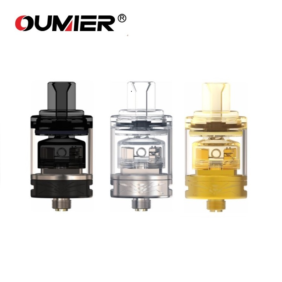 Original OUMIER WASP NANO MTL RTA 2ml Capacity With New Adjustable Double Side Airflow & Single-coil Building 22mm RTA VS Zeus X