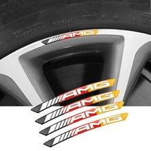 4 шт ступицы колеса для автомобиля наклейки втулки эмблемы алюминиевые аксессуары для Benz AMG Смарт W108 W205 W204 W203 W168 W169 W177 W126 W140