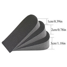 Invisible Height Increased Insoles Heel Pads Orthopedic Insoles Soft Anti-slip Foot Insoles 1/2/3cm Lift Insole Dress In Socks