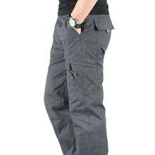 Men Cargo Pants Casual Multi Pockets Military Tactical Pants Pantalon Hombre Men Sweatpants Straight Long Trousers Plus Size 3XL
