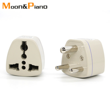 1PC 3 pin Universal UK/US/EU/AU to Small South Africa Plug India Multi-function travel pulg adaptor AC Outlet Adapter Socket