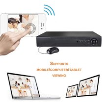 цена на 4 Channels HD 1080P 5 In 1 DVR Video Recorder 1TB Hard Disk Home Security Surveillance Digital Video Recorder Support HDMI
