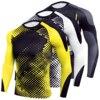 Men TShirt Running Sportwear Bodybuilding Skinny Tshirt Long Sleeve Tights Bottoms Gym Training Quick Drying Breathable T-shirt