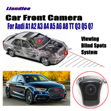 Car Front View Camera For Audi Forward Logo Camera For Audi A1 A3 A4 A5 A6 A7 Q3 Q5 Q7 TT Front Camera Full HD CCD Accesories цена 2017